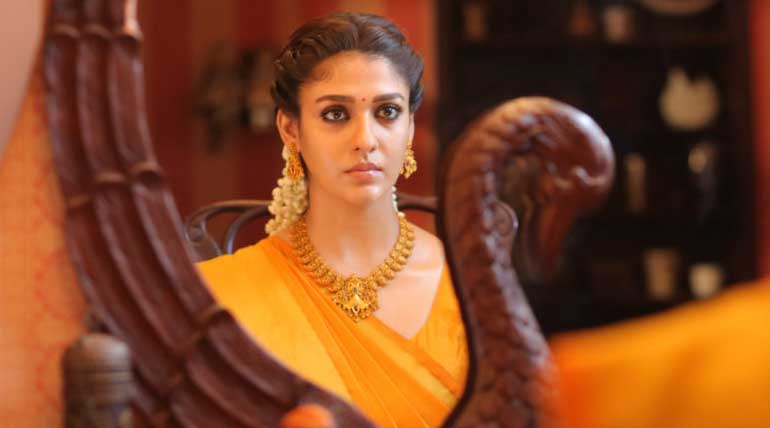 Nayanthara in Airaa Movie Poster