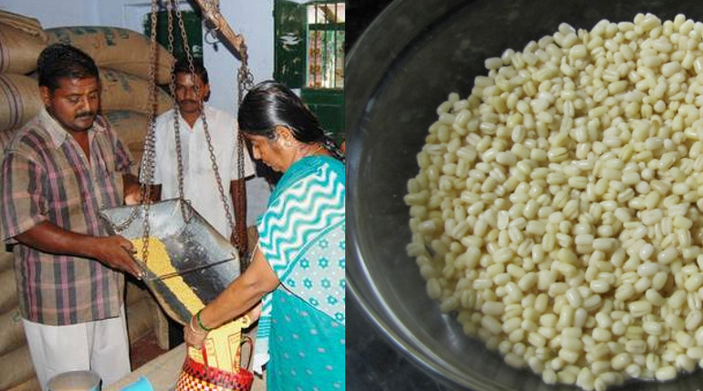 ration shop black gram is not sale