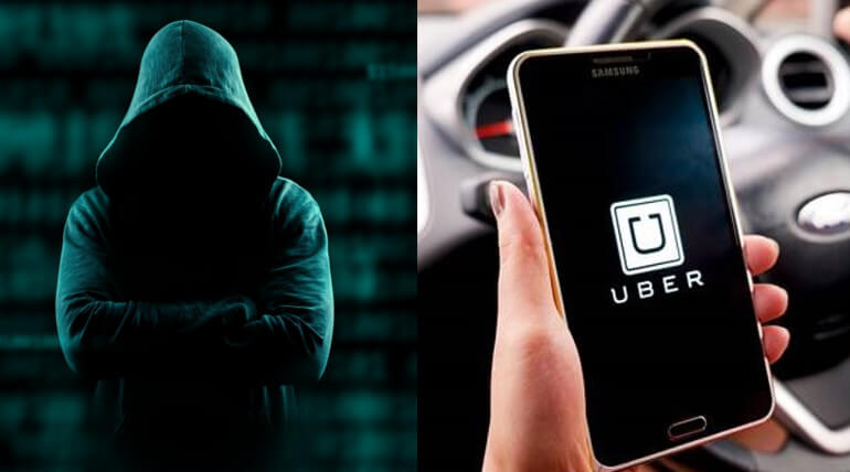 uber customer details hacked