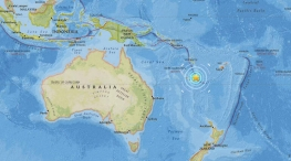 earthquake near australia