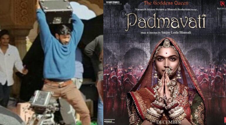 padmavati movie issues