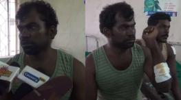 தமிழக மீனவர்கள் மீது இந்திய கடற்படையினர் துப்பாக்கி சூடு