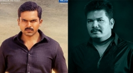 director shankar wishes theeran athigaram ondru movie