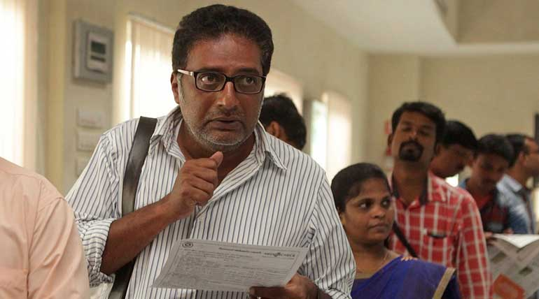 actor prakashraj statement