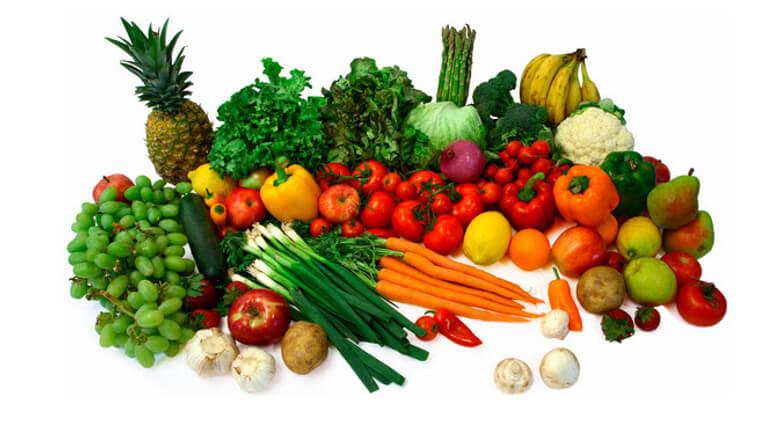 natural healthy food