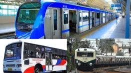 chennai metro rail electric train city bus travel