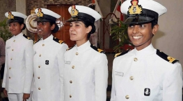 woman candidates in indian navy