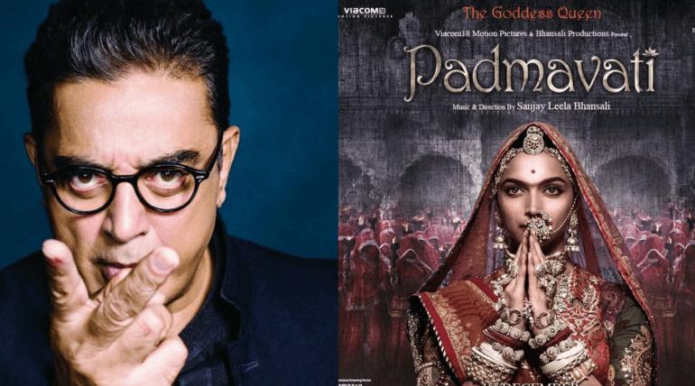 kamal haasan supports padmavati movie