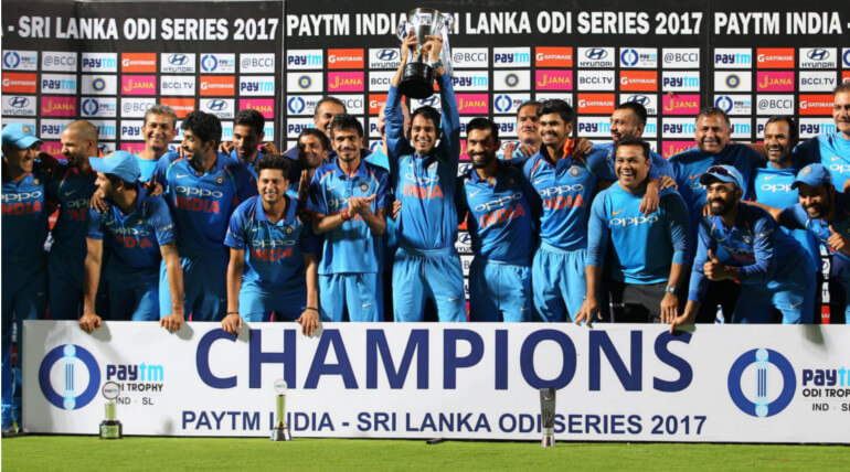 india vs srilanka odi series
