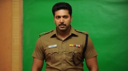 jeyam ravi plays as cop in adanga maru movie