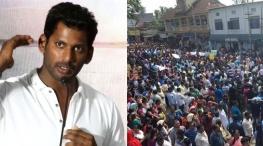 vishal support fishermen protest