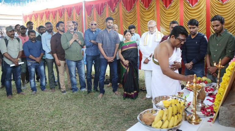 பிரபு தேவாவின் ஹாரர் படத்திற்கு சிறப்பு பூஜை