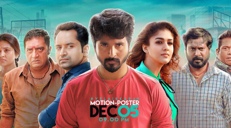 Velaikkaran motion poster