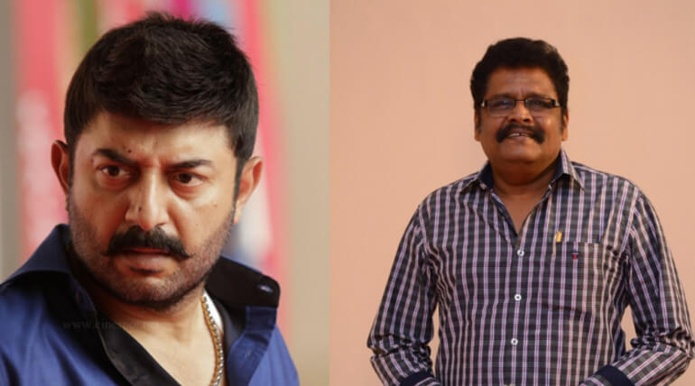 aravind swamy new film with ks ravikumar
