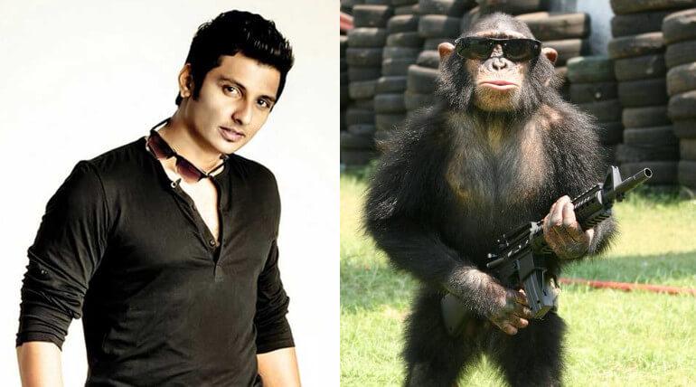 jiiva new movie title gorilla