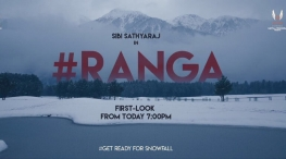 ranga movie first look