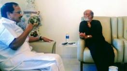 Rajinikanth with Tamilarivi maniyan