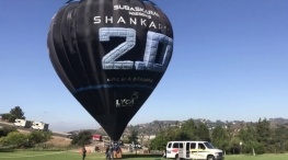 2.0 movie balloon festival in pollachi