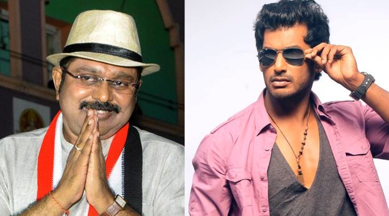 vishal wishes to ttv dinakaran