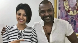 kanchana 3 movie oviya is not quit