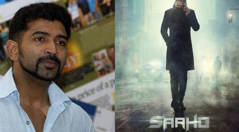 arun vijay tweet about sahoo movie