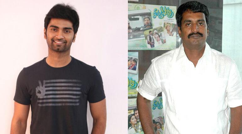atharvaa joined director R kannan new movie