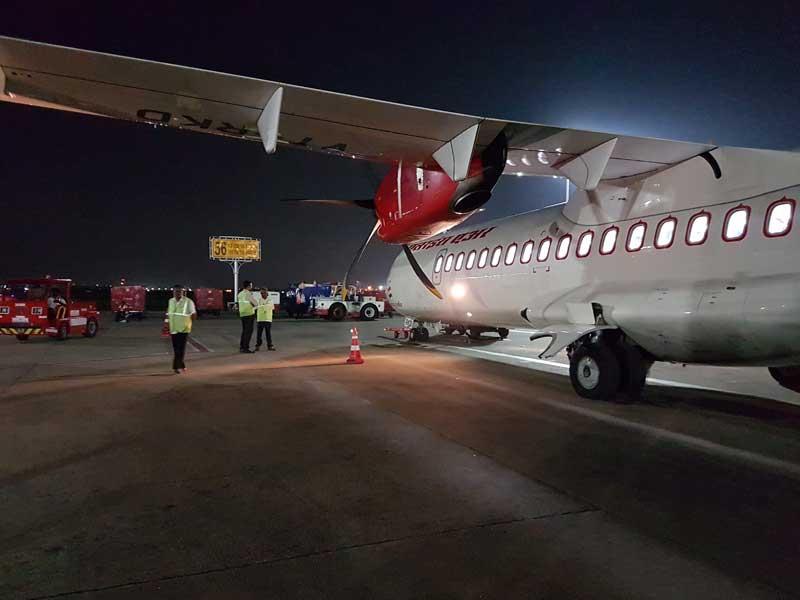 airindia flight boarding