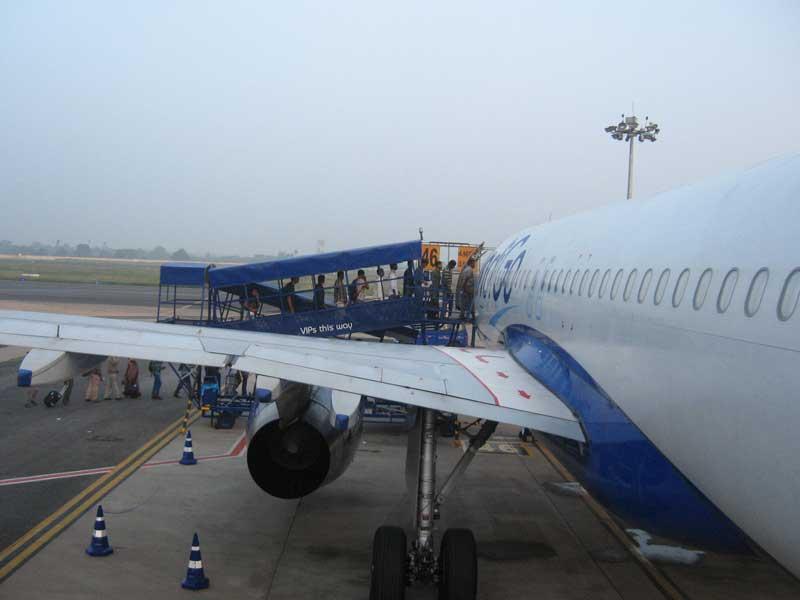 indigo flight boarding
