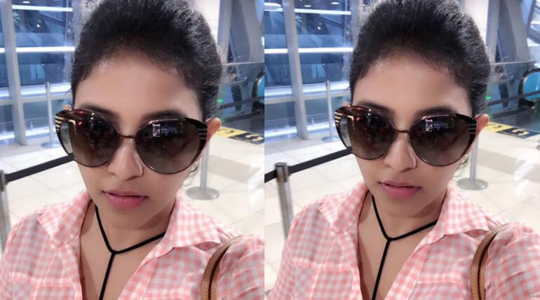 anjali joins kaali movie shoot
