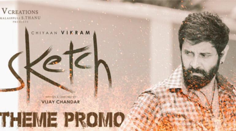 chiyaan vikram sketch new promo viral