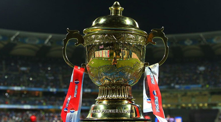 IPL T20 cricket Trophy