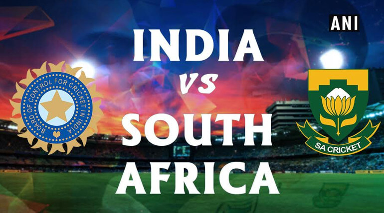 india vs south africa first test cricket live score