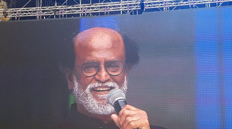 rajinikanth kamal haasan join in natchathira vizha 2018