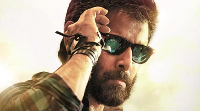 chiyaan vikram in sketch movie telugu release from january 26th