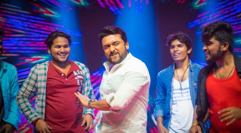suriya dance gang pre release event