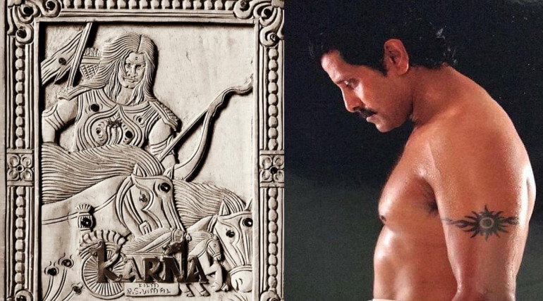 vikram new movie mahavir karna