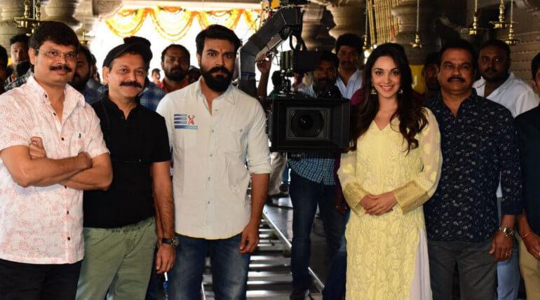 ram charan new movie shooting begins