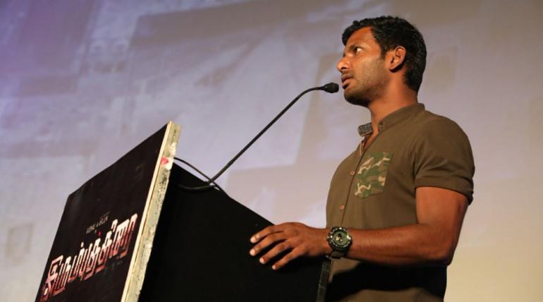 irumbu thirai movie audio launch event live video