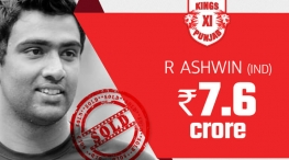 IPl Auction 2018 Ashwin goes to Kings XI Punjap