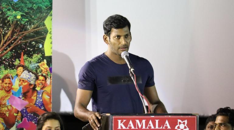 vishal speech on kee movie audio launch
