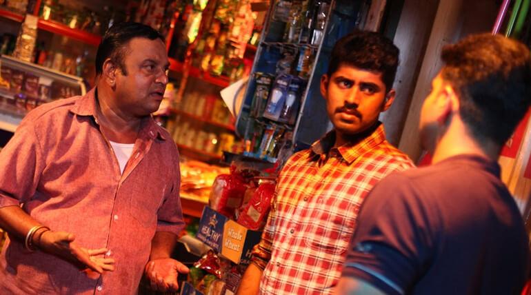 director gautham menon release chatru movie motion poster
