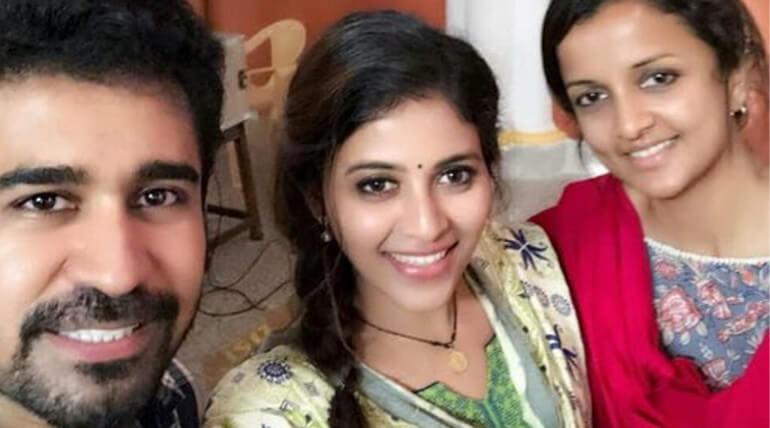 anjali kaali shoot complete