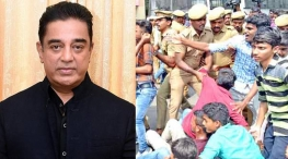 kamal haasan gv prakash support bus fare hike protest