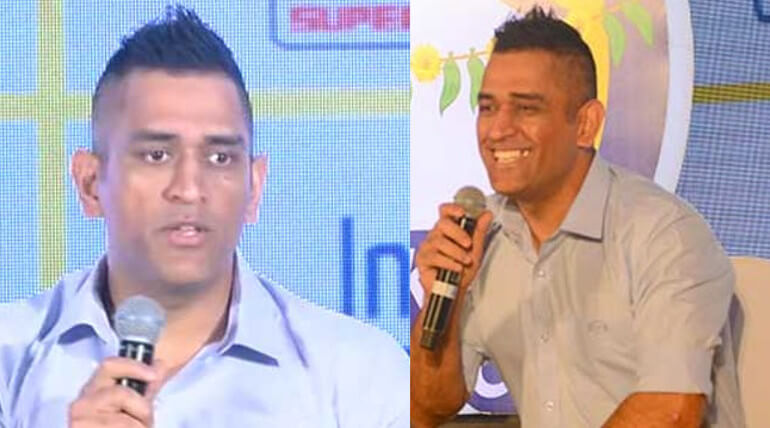 dhoni press meet at chennai