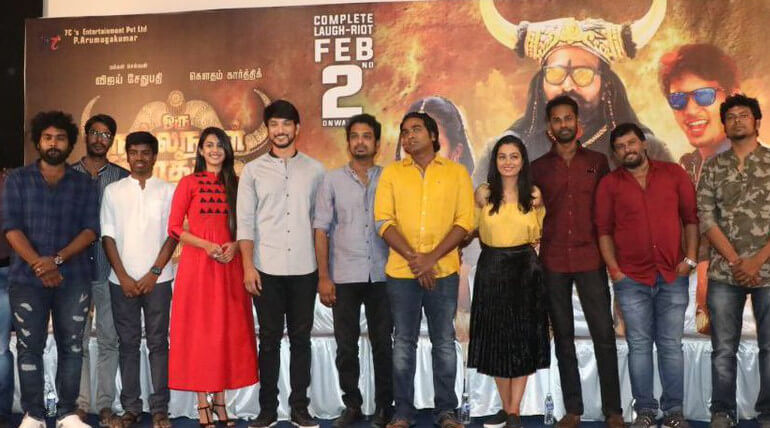 oru nalla naal pathu solren movie crews press meet stills