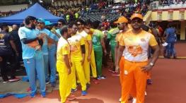celebrity cricket league teams and captains