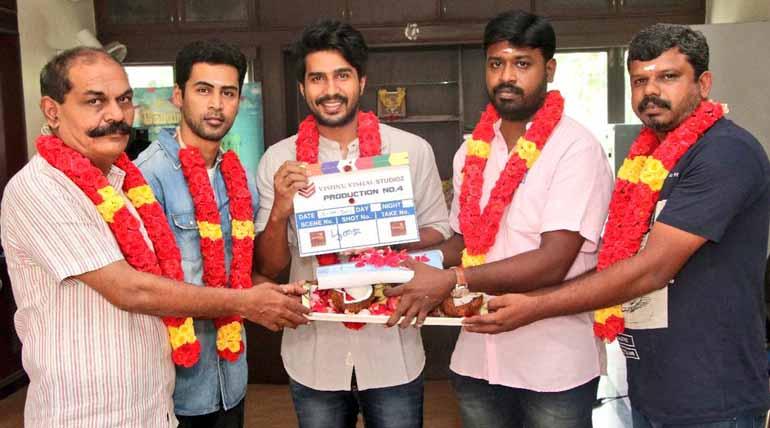 vishnu vishal new movie with director venkatesh