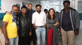 asuravadham movie shooting stills