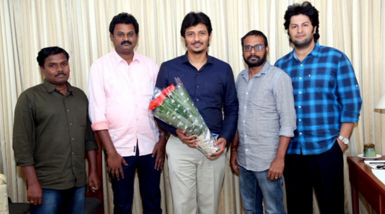 actor jiiva new movie titled as gypsy