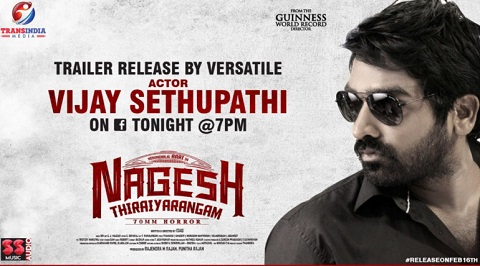 actor vijay sethupathi release nagesh thiraiyarangam movie trailer